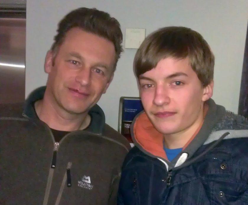 The time I met Mr Packam.